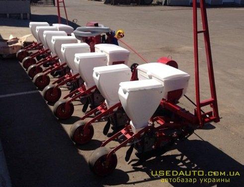 Продажа Восьмирядная сеялка.  , Сельскохозяйственный трактор, фото #1