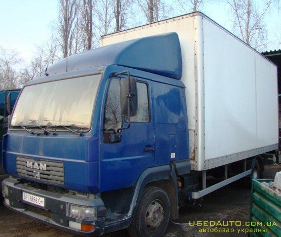 Продажа MAN 12.185 , Мебельный грузовик, фото #1
