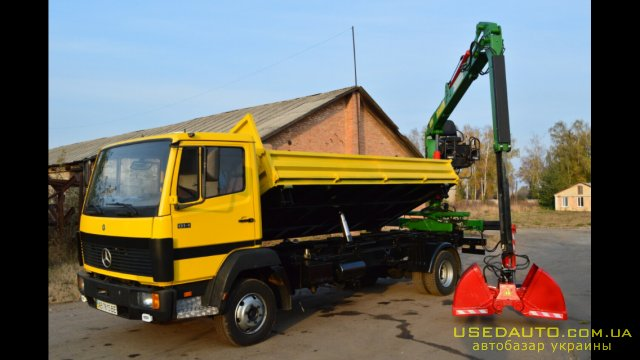 Продажа MERCEDES 814d , Самосвальный грузовик, фото #1