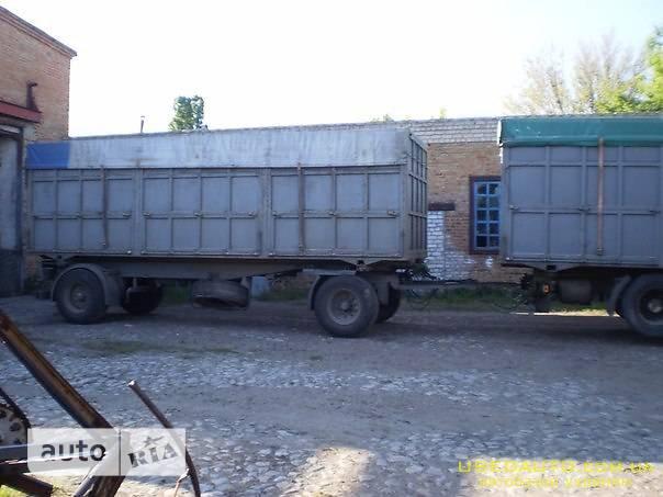 Продажа KRONE зерновоз 40 м3 , Бортовой прицеп, фото #1