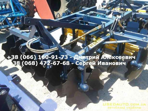 Продажа Прицепная борона АГД 2.5Н  , Сельскохозяйственный трактор, фото #1