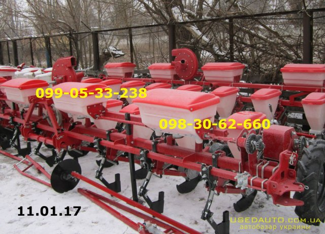 Продажа Сеялка точного высева Упс 8-02 (  , Сельскохозяйственный трактор, фото #1