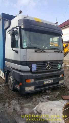 Продажа MERCEDES Actros , Тентованый грузовик, фото #1