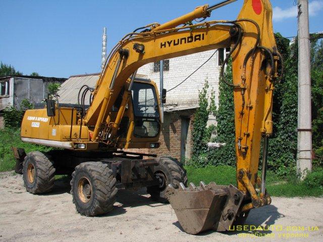 Продажа HYUNDAI Robex 130W-3 (ХУНДАЙ), Эксковатор, фото #1