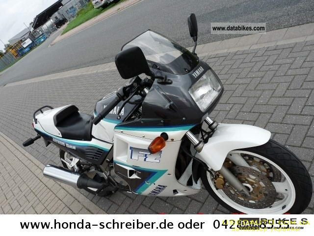 Продажа YAMAHA Fz 750 , Спортбайк, фото #1