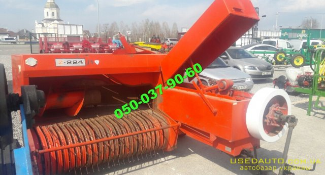 Продажа Z -224/1 Пресс-подборщики ХИТ     , Сельскохозяйственный трактор, фото #1