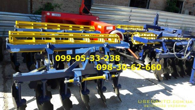 Продажа Борона АГД 2.1Н АГД-2.5Н АГД-2.8  , Сельскохозяйственный трактор, фото #1
