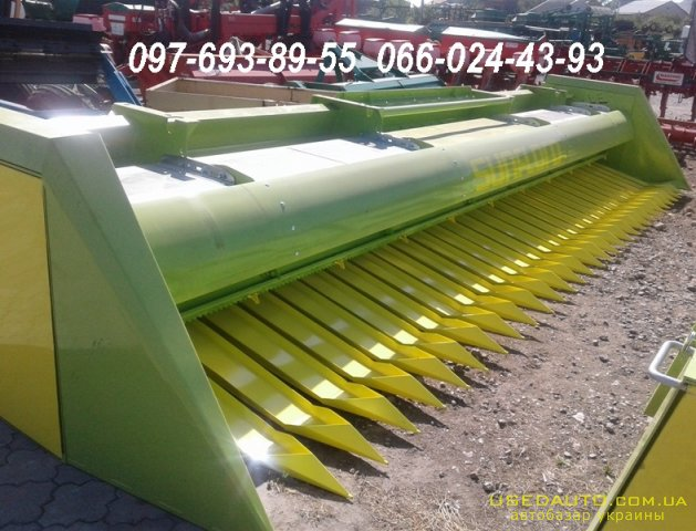 Продажа Жатка для уборки подсолнечника Ж ЖСБ-7.4  SunFloro , , фото #1