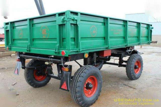 Продажа 2 ПТС 4 БУ Прицеп для трактора М  , Сельскохозяйственный трактор, фото #1