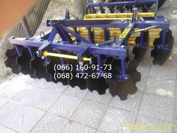Продажа Борона АГД АГД-2,1 для ЮМЗ/МТЗ т  , Сельскохозяйственный трактор, фото #1