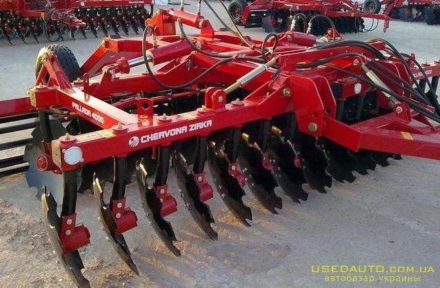 Продажа Борона Паллада 4000, Червона Зир  , Сельскохозяйственный трактор, фото #1