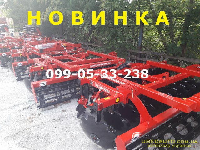Продажа НОВИНКА Паллада 32,-01 БОРОНА!!! РЕАЛЬНО-ДА , Сеялка сельскохозяйственная, фото #1