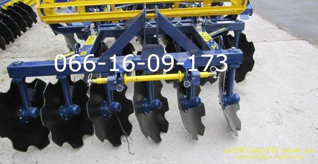 Продажа Дисковая борона АГД-2.1 на ЮМЗ,   , Сельскохозяйственный трактор, фото #1