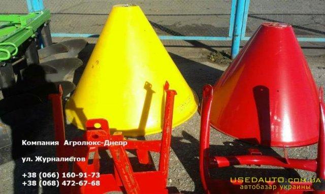 Продажа МВУ Пластик 500кг Разбрасыватель  , Сельскохозяйственный трактор, фото #1