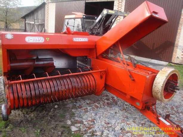 Продажа пресс-подборщик SIPMA Z224/1 б/у  , Сельскохозяйственный трактор, фото #1