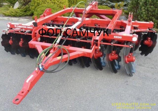 Продажа Прицепная дисковая борона ПАЛЛАД  , Сельскохозяйственный трактор, фото #1