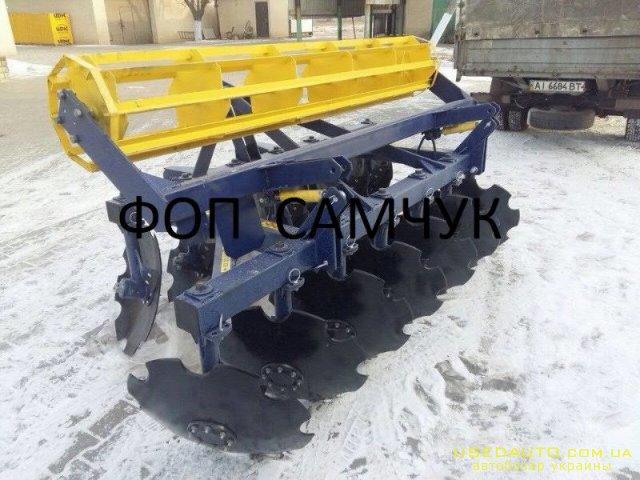 Продажа Продам борони АГД, завод Агрорем  , Сельскохозяйственный трактор, фото #1