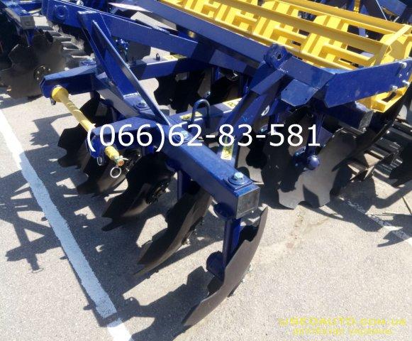 Продажа АГД 1.8 навесная борона агрегати  , Сельскохозяйственный трактор, фото #1