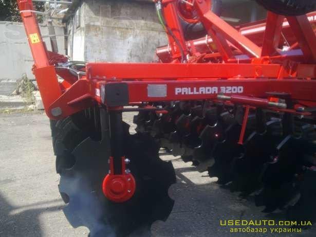 Продажа Борона БДП-3200-01 (Паллада). Ос  , Сельскохозяйственный трактор, фото #1