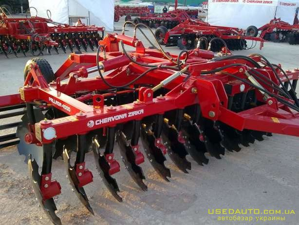 Продажа Борона дискова прицепна БДП-4000 4000 Паллада , Сельскохозяйственный трактор, фото #1