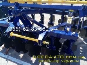 Продажа Дисковая борона навесная АГД-2.5  , Сельскохозяйственный трактор, фото #1