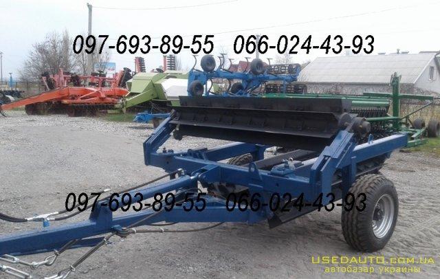 Продажа Каток измельчитель рубящий КРП-6  , Сельскохозяйственный трактор, фото #1