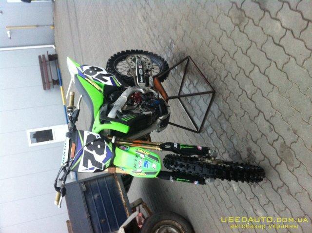 Продажа KAWASAKI kxf , Кроссовй мотоцикл, фото #1