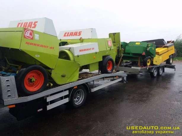 Продажа прес- підбирач WELGER-CLAAS-JOHN  , Сельскохозяйственный трактор, фото #1