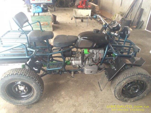 Продажа Саморобний квадроцикл , Квадроцикл, фото #1
