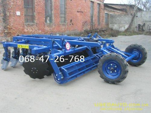 Продажа АГД -3.5Н Прицепная борона  , Сельскохозяйственный трактор, фото #1