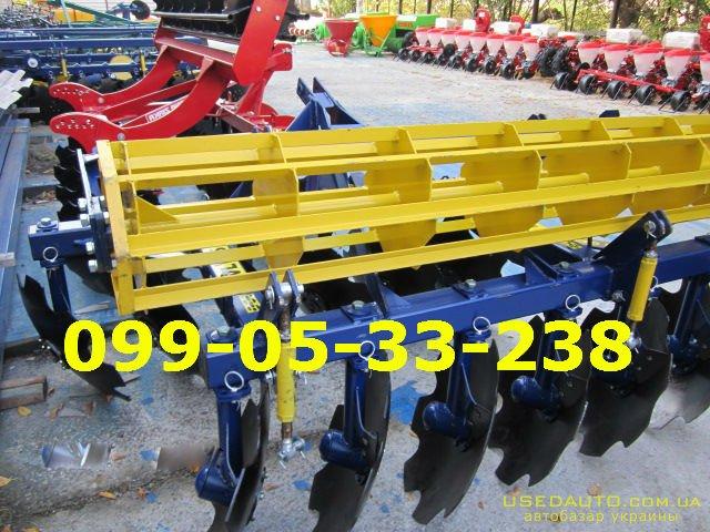 Продажа Борона АГД 2.1 навесная для юмз,  , Сельскохозяйственный трактор, фото #1