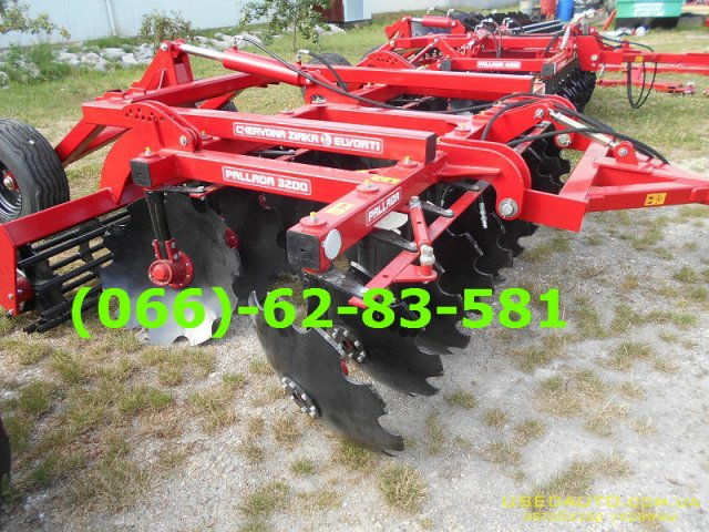 Продажа бороны ПАЛЛАДА 3200, 3200-01 обр  , Сельскохозяйственный трактор, фото #1