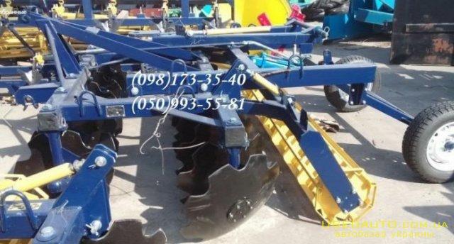 Продажа Дисковая борона 2,8 Н от завода   , Сельскохозяйственный трактор, фото #1