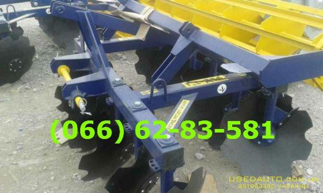 Продажа Дисковая борона АГД –2.5 додатко  , Сельскохозяйственный трактор, фото #1