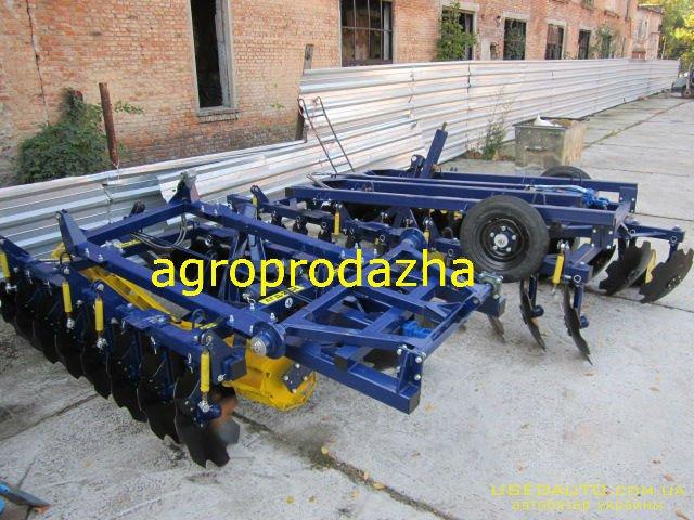 Продажа Дисковая борона АГД-4.5Н прицепн  , Сельскохозяйственный трактор, фото #1