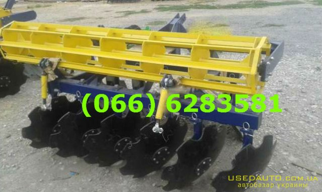 Продажа Дисковая борона АГД – 2.1 навесн  , Сельскохозяйственный трактор, фото #1