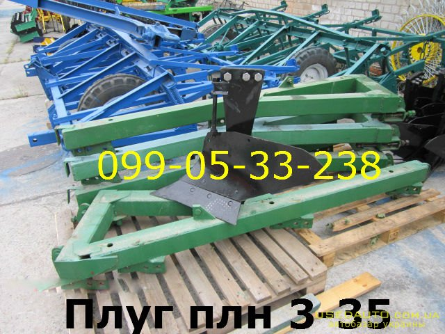 Продажа ПЛУГ Плн 3-35 с углоснимом завод  , Сельскохозяйственный трактор, фото #1