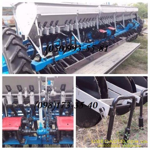 Продажа Сеялка СЗ-5,4, б.у, после капрем  , Сельскохозяйственный трактор, фото #1