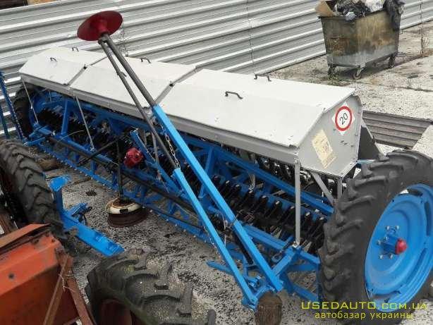 Продажа Сеялка зерновая сз-5, 4 после ка  , Сельскохозяйственный трактор, фото #1