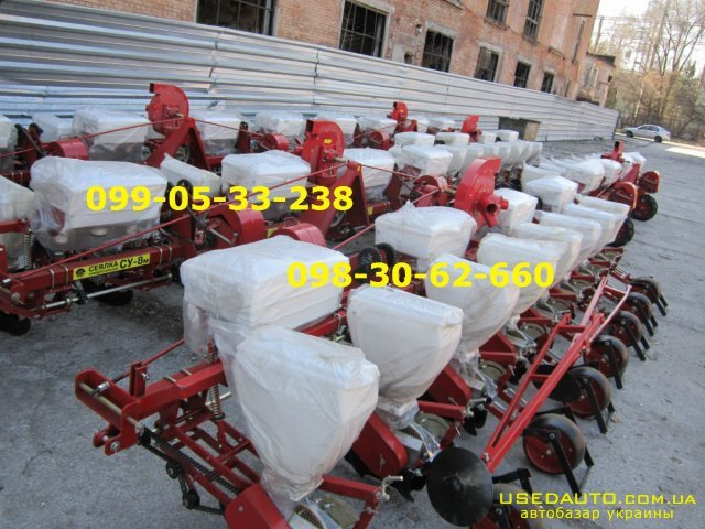 Продажа Новинка СЕЯЛКА СУ-8 Аналог УПС-8  , Сельскохозяйственный трактор, фото #1