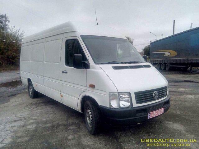 Продажа VOLKSWAGEN LT35 (ФОЛЬКСВАГЕН), Грузопассажирский микроавтобус, фото #1