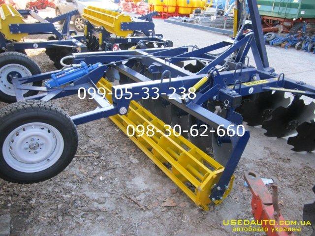 Продажа ЗАВОДСКАЯ борона Агд-2.1(2.5)3.5 РЕАЛЬНО , Сельскохозяйственный трактор, фото #1