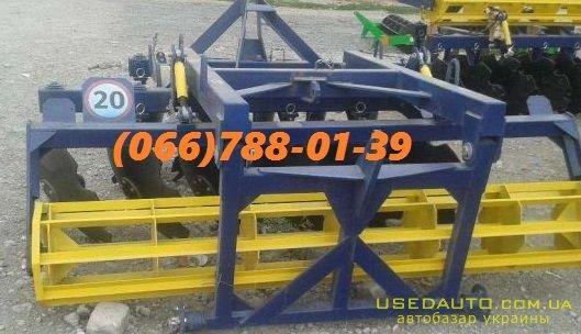 Продажа АГД-2,5 дисковая борона новая, з  , Сельскохозяйственный трактор, фото #1