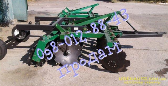 Продажа Борона полуприцепная АГ  2,4 П  , Сельскохозяйственный трактор, фото #1