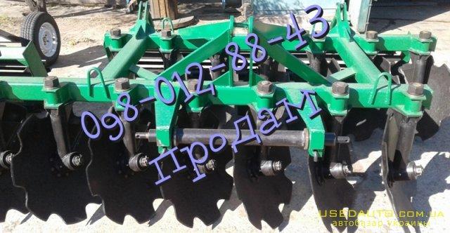 Продажа Дисковая АГ 2,4 навесная  , Сельскохозяйственный трактор, фото #1