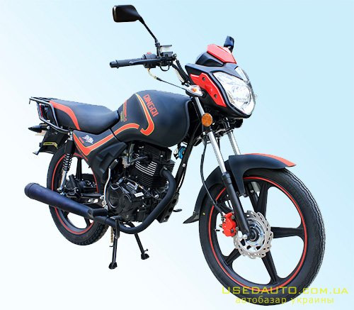 Продажа QINGQI Cobra 125 , Дорожный мотоцикл, фото #1
