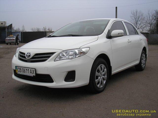 Продажа TOYOTA Corolla (ТОЙОТА Королла), Седан, фото #1