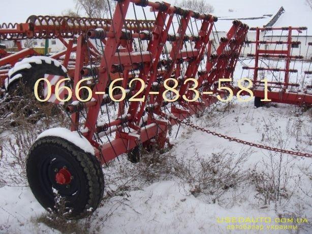 Продажа Лира ЗПБ 15 Борона пружинная гид  , Сельскохозяйственный трактор, фото #1