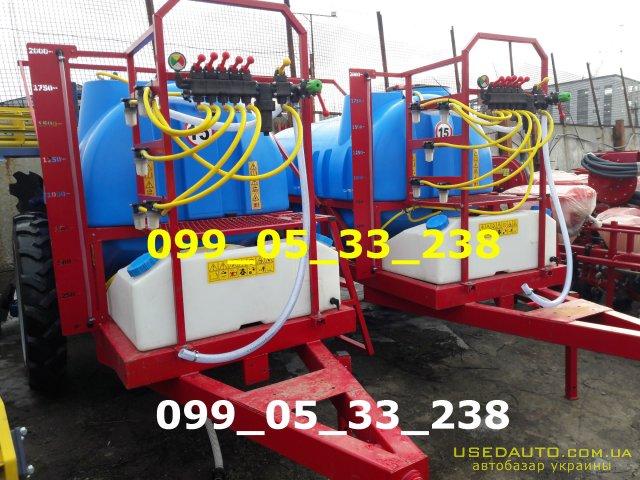 Продажа Опрыскиватель ОП-2000\2500/ ПОЛМАРК ОП , Сельскохозяйственный трактор, фото #1