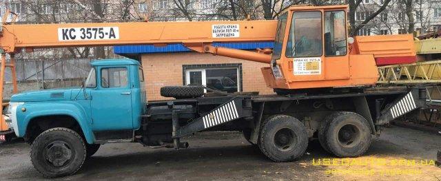 Продажа ДАК/ЗИЛ КС-3575А , Автокран, фото #1